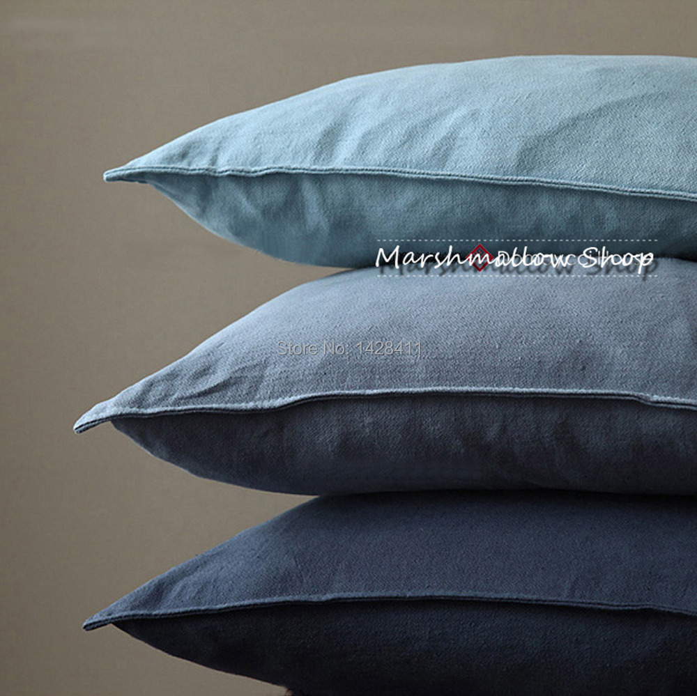 morden solid color cushion MUJI style decorative large floor pillows