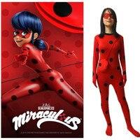 Hero Catcher Kids Girls Miraculous Ladybug Cosplay Costume For Kids Children High Quality Tailor Ladybug Suit