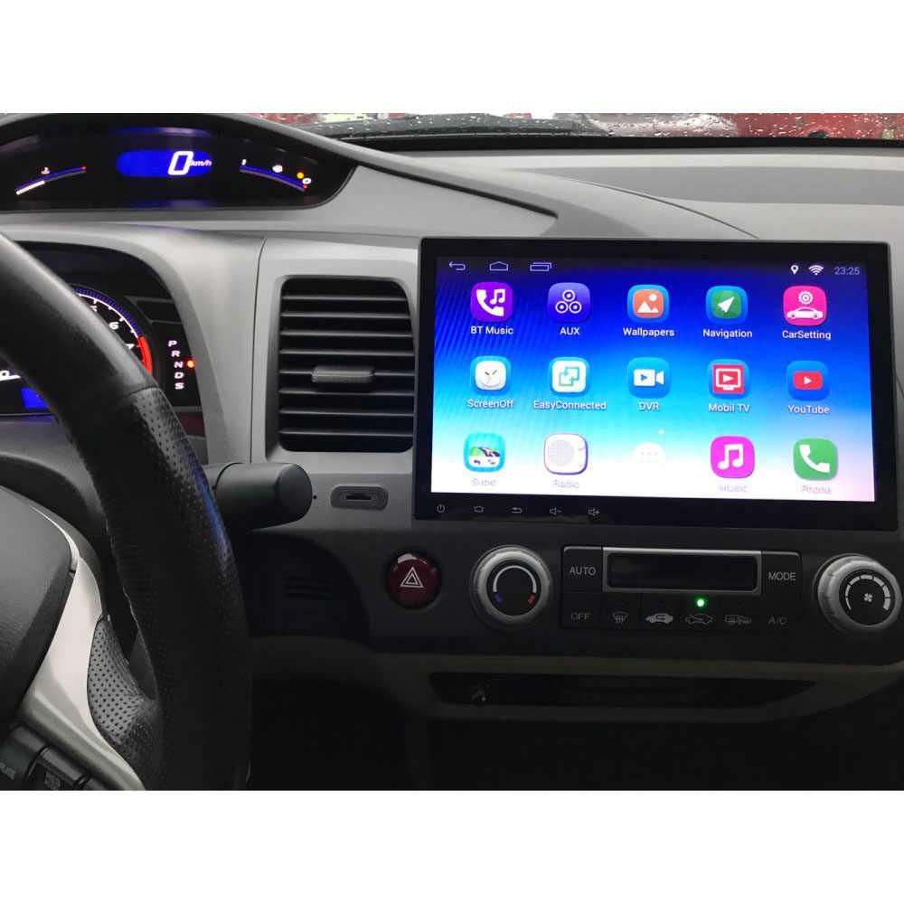 """CHOGATH 10.2 """"Android 7.0 odtwarzacz samochodowy gps Navi dla Honda Civic 2006-2011 z RAM 1/2G czterordzeniowy Stereo Multimedia HDMI bez DVD"""