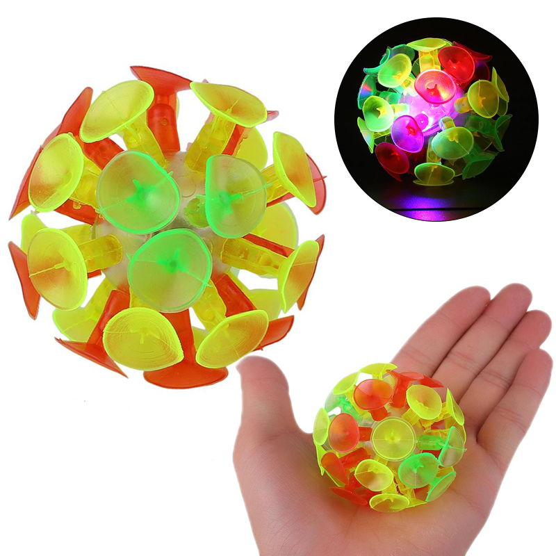 Забавная мягкая силиконовая присоска воспринимающая способность реакции способность мяч игрушка