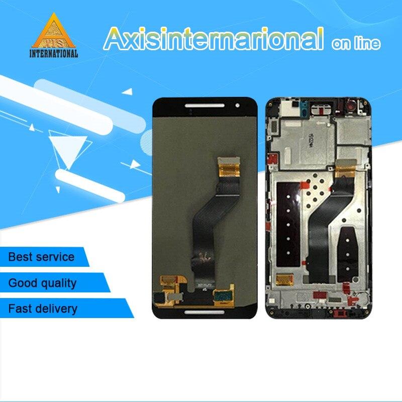Axisinternational для Google Nexus 6p huawei 5,7 ЖК-экран + сенсорный дигитайзер с рамкой для huawei Google Nexus 6p + инструмент