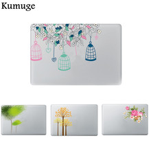 Flowers Laptop Sticker for Macbook Air Pro Retina 11 12 13 15 Vinyl Decal Laptop Skin Shell for Macbook Xiaomi Air 13 Sticker цена и фото