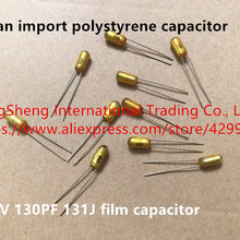 Original new 100% polystyrene capacitor 100V 130PF 131J film capacitor (Inductor)