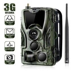 3G كاميرا الصيد الخلوي اللاسلكية درب كاميرات SMS/MMS/SMTP IP66 16MP 1080P صور الفخاخ 940nm المصابيح الكاميرات البرية HC801G
