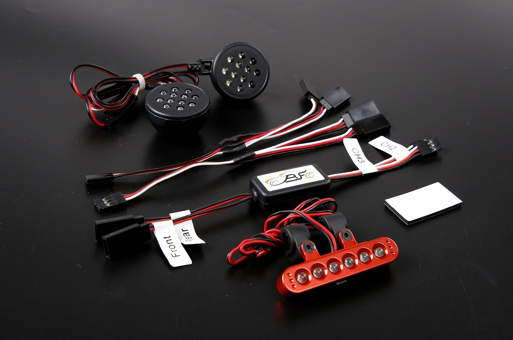 1/5 scale rc baja parts Rovan 5B BAJA new spare parts 5B LED light set 2 853082 for hpi km rovan baja 5B 1 5 r c racing car cnc alloy steering parts set baja 5b parts hpi rovan km free shipping