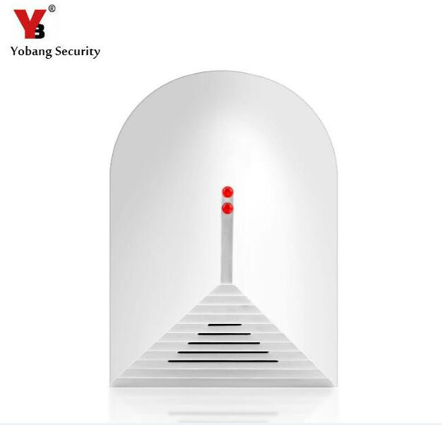 Yobang Security Home Security Alarm Systems Glass Break Sensor Detector for G90B Alarm Panel 433MHz Sensor For Home Protection wireless vibration break breakage glass sensor detector 433mhz for alarm system