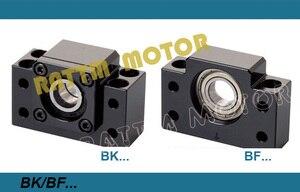 Image 3 - 3set Linear Rails SBR16 L 300/700/1100mm & 3set Ballscrew SFU/RM1605 350/750/1150mm & Nut & 3set BK/B12 & Coupler for CNC Router