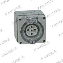 *32A three phase 5 round pin waterproof socket IP66 56SO532