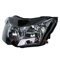Clear Lens Motorcycle Plastic Front Light Lamp Case For Kawasaki Z750 ZR750L 2007 2010 Headlight Housing Set