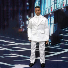1/6 Men's White Suit Coat Pants and Tie Shirt for 12''Bodies Figures   Accessories nancey c murphy bodies and souls or spirited bodies