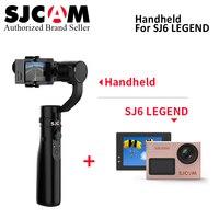 Оригинальный SJCAM SJ6 Легенда 4 К 24fps Ultra HD Notavek 96660 Водонепроницаемый действие Камера матч с 3 оси ручной стабилизатор gimbal