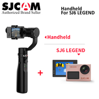 Original SJCAM SJ6 LEGEND 4K 24fps Ultra HD Notavek 96660 Waterproof Action Camera match with 3 axis Handheld Stabilizer gimbal
