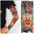UV Arm Sleeves Body Paint Fashion Fake Tattoo Cool Arm Cover Sleeve for Women Men Cuff Out Door Workout Protection U