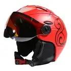 MOND Brille Ski Helm CE Zertifizierung Sicherheit Ski Helm Mit Brille Skating Skateboard Skifahren Snowboard Helm PC + EPS - 5