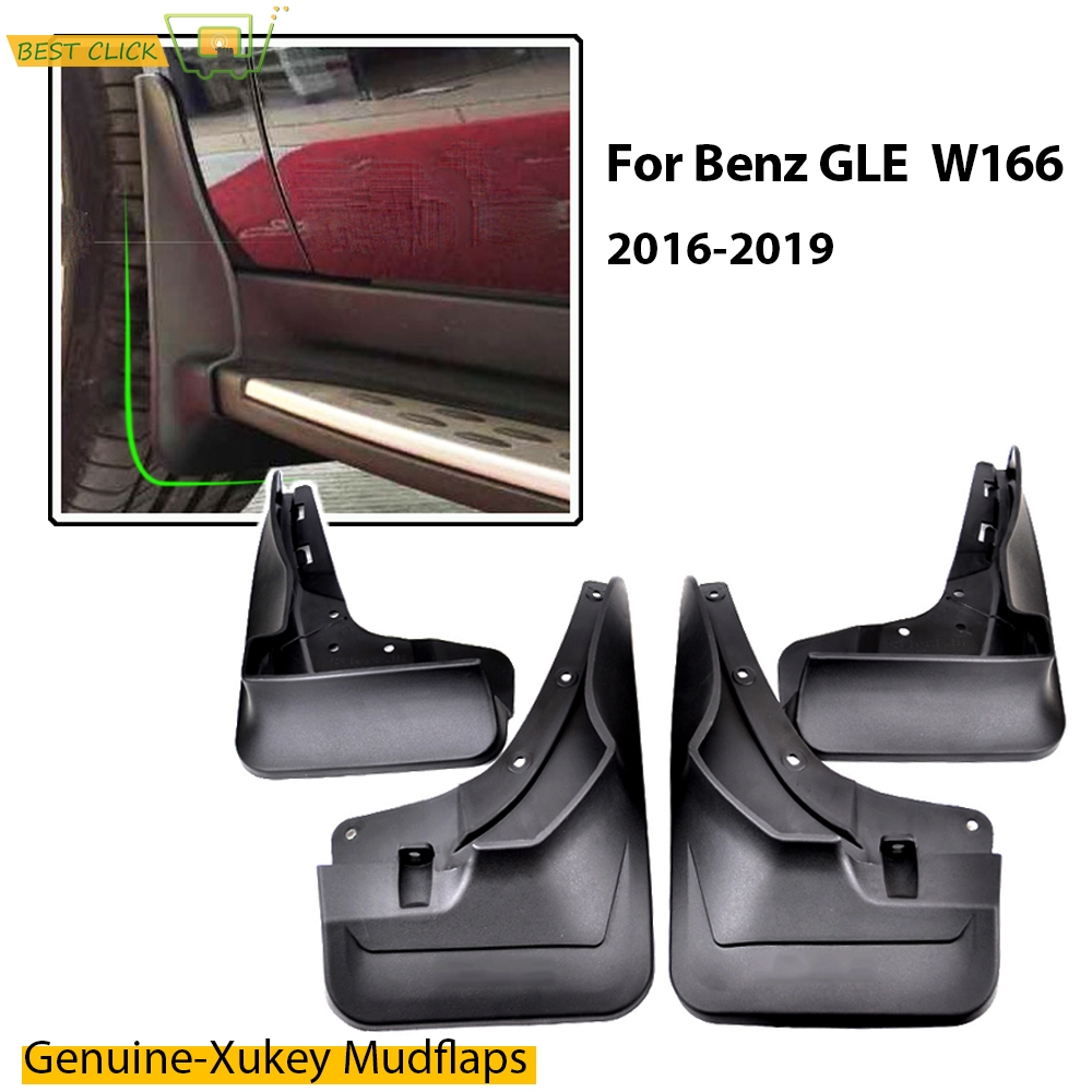 OE Styled Molded Mud Flaps For Mercedes Benz GLE Class GLE Class W166 2016 2019 Splash