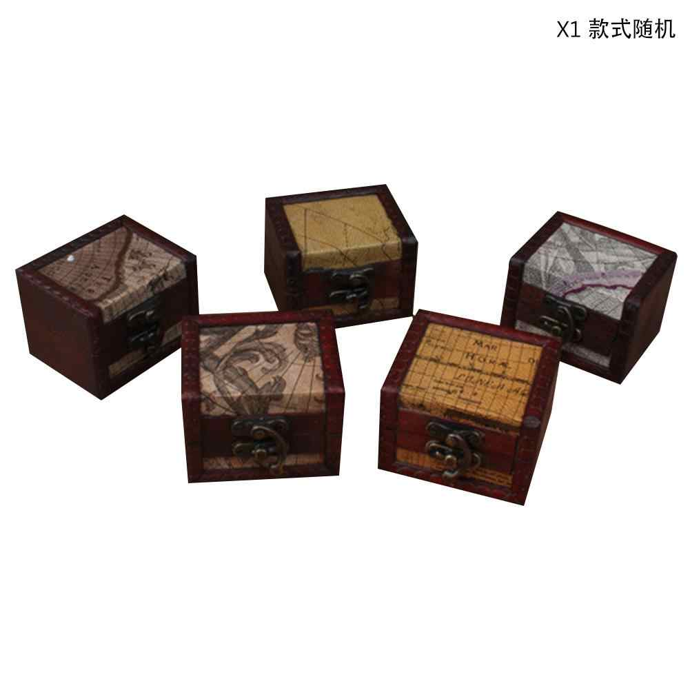 Detail Feedback Questions About Antique Small Square Box European Retro Wooden Storage Vintage Crafts Random Style Delivery On Aliexpress Alibaba