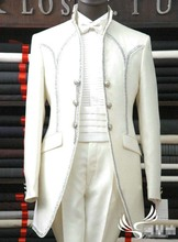 Hot Sale Mens Wedding Tuxedos Groom Suits Tailcoat Formal Party Suit Custom Made