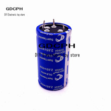 1psc 2.85v400f super capacitor new energy capacitor automobile rectifier capacitor 2.7v500f