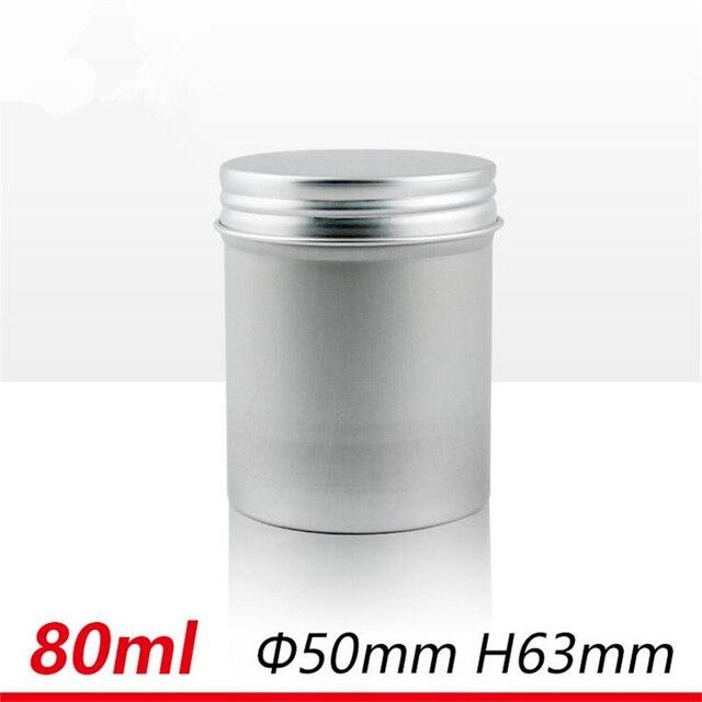 80ml 80g SPACE CASE Cylinder Storage Case Aluminum Pill Tablet Case