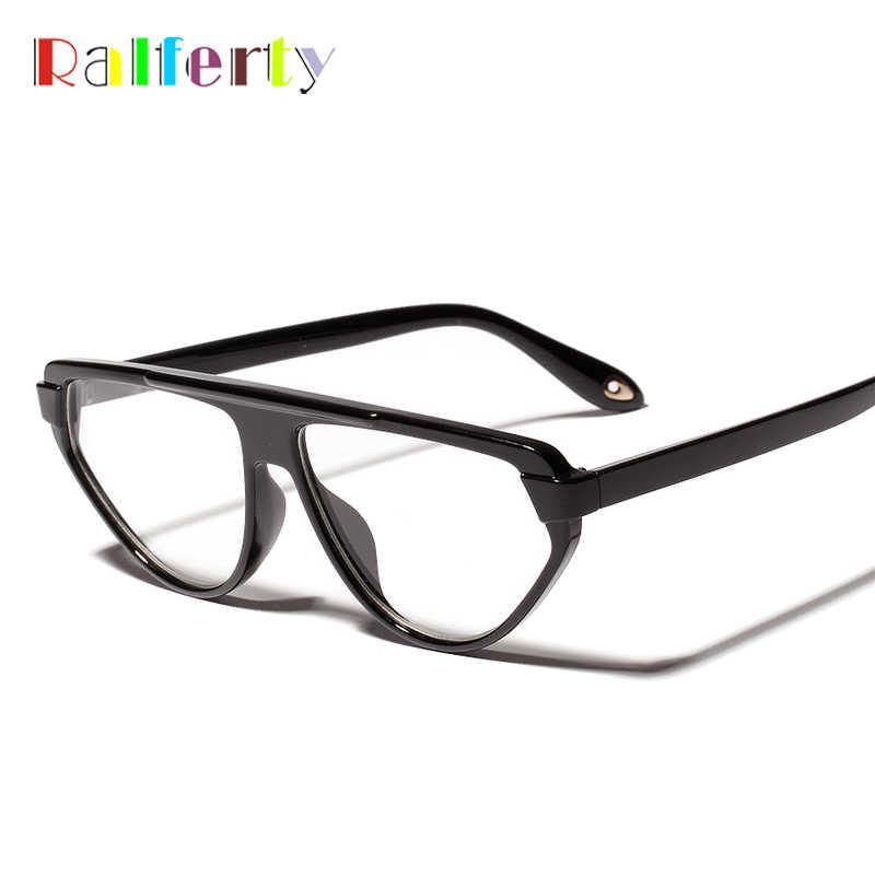 6f2a91d05f ... Ralferty Retro Glasses Frames Tortoise Irregular Eyeglasses Fashion  Korean Style Clear Eyewear Frame Women Men Optical ...