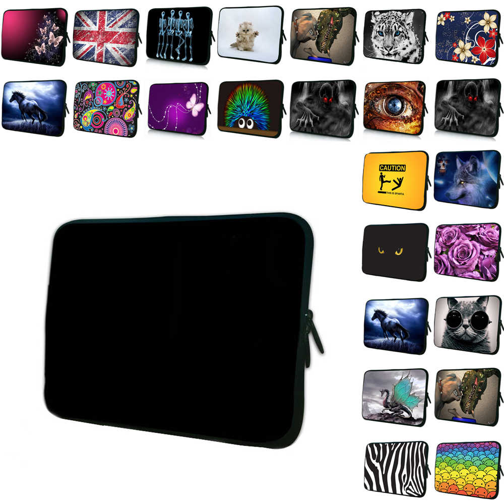 Notebook Tas Computer Accessoires Neopreen 7 10 12 13 14 15 17 13.3 11.6 9.7 Laptop Sleeve Bag Cover Case shockproof Pouch Funda