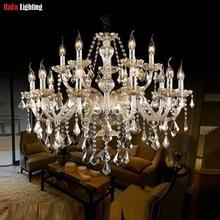 k9 crystal Chandelier for Living Room bedroom lustres de cristal Decoration Tiffany Pendants and Chandeliers Home