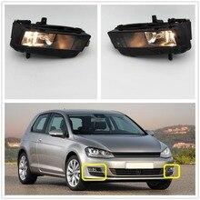 Свет автомобиля для VW Golf 7 GOLF MK7 VII TDI GTI TGI TSI 2012 2013 2014 2015 2016 2017 автомобилей -укладки противотуманные лампа с лампочки