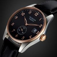 High Quality Relogio Masculino Mens Watches Top Brand Luxury Genuine Leather Casual Sport Quartz Watch Men