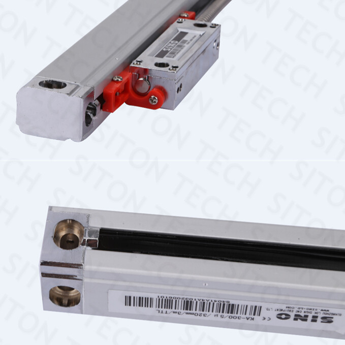 Free shipping Sino KA-300 5um resolution 270mm linear sensor with protection accessories SINO KA300 270mm linear glass scale цена
