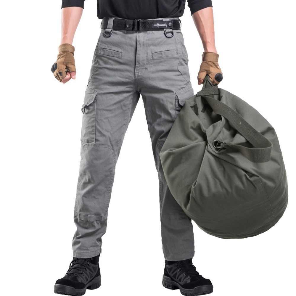 Soldat gratuit sports de plein air tactique militaire 100L grande capacité hommes sac à dos pour camping randonnée sac