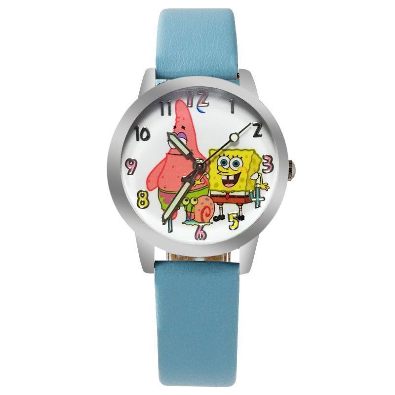 adult watches Spongebob