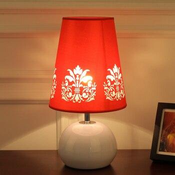 งานแต่งงานตารางโคมไฟห้องนอนโคมไฟเทศกาลของขวัญ elegant pastoral งานแต่งงานสีแดง CL FG976
