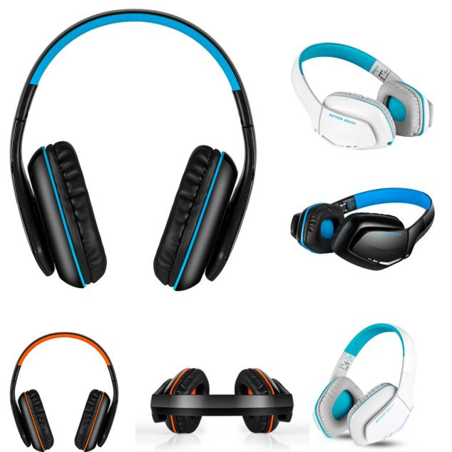 Foldable Wireless KOTION EACH B3506 Bluetooth Headphones Headset Foldable Game Headset For Laptop MP3 Palyer Smart Phone R0415