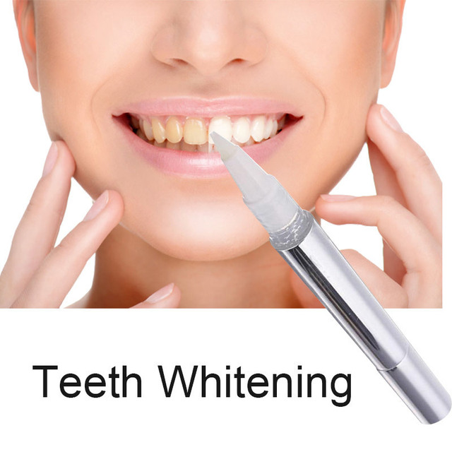 2018 New Teeth Whitening Pen Tooth Gel Oral Hygiene Perfect Smile Veneers Dental Stain Remover Bleach Whitener Dental Teeth Care
