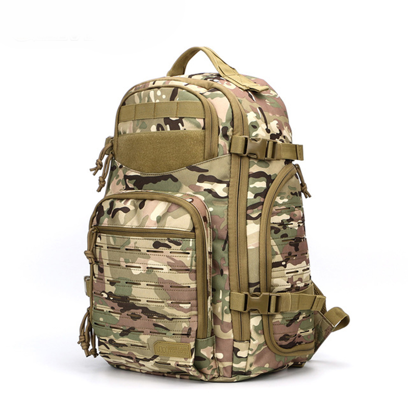 New 1000D Laser Cutting Molle Outdoor Military Backpack Tactical Bag Trekking Rucksack for Army Hunting Camping Hiking Traveling