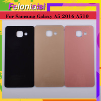 case samsung galaxy 10Pcs/lot For Samsung Galaxy A510 A510F A5100 A5 2016 Housing Battery Door Rear Back Glass Cover Case Chassis Shell Replacement (4)