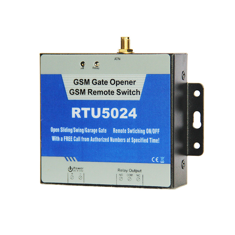 GSM Gate Opener Relay Switch Remote Access Control Wireless Door Opener By Free Call King Pigeon RTU5024 free shipping 330mhz 8 dip switch 5326 auto gate duplicate remote control