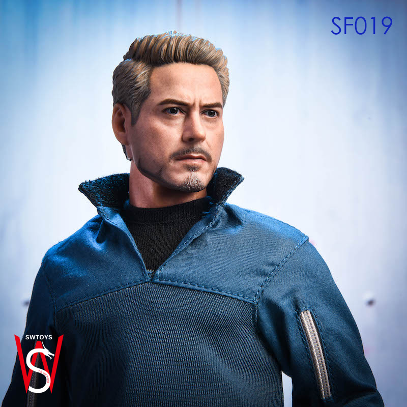 SWTOYS SF019 1//6 Scale Iron Man Tony Stark Avengers Action Figure Collectile Toy
