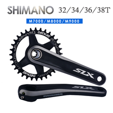 Bicycle chainr  Chainring 96BCD-S Narrow Wide MTB Chain Ring Road Round/Oval Chainwheel 32-38T Fit SHIMANO XT,XT,SLX