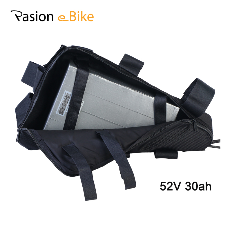 PASION E BIKE 52V 30ah Triangle Battery 52V Electric Bike Battery Lithium Battery Electric Bicycle E