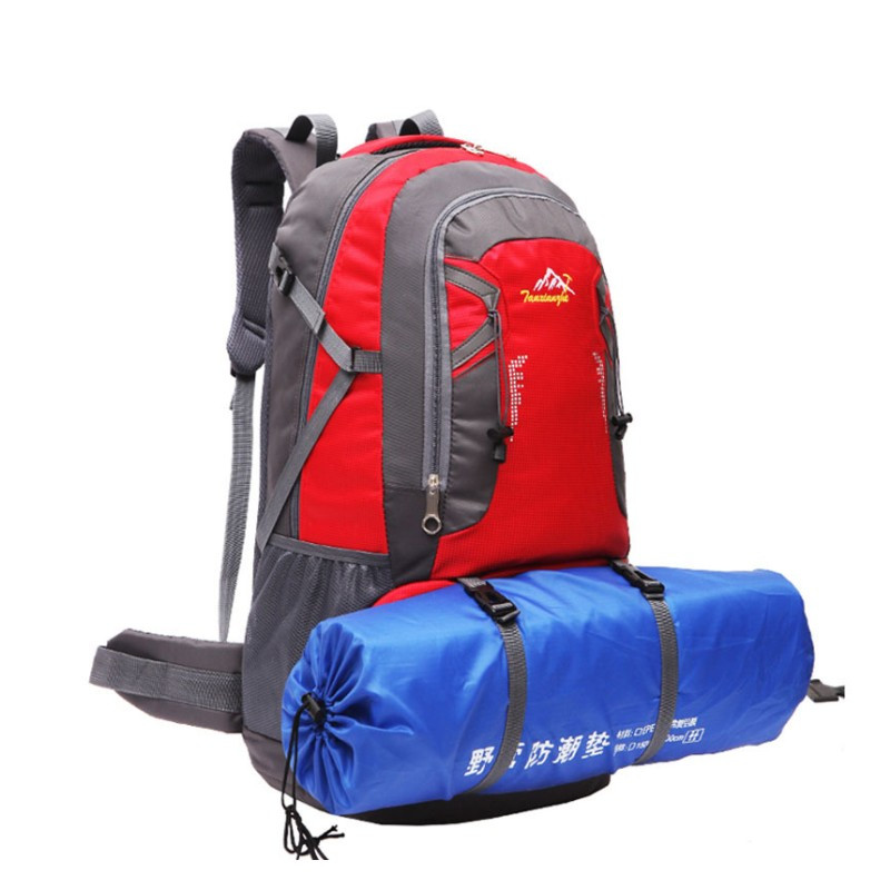 Multi - functional Outdoor Large - capacity Mountaineering Bag Camping Shoulder Backpack Travel Riding Equipment