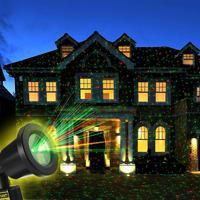 Starlight Lumière Laser avec Télécommande pour Extérieure Vacances De Noël Décorations De Jardin Cour Parti avec L'UE Plug