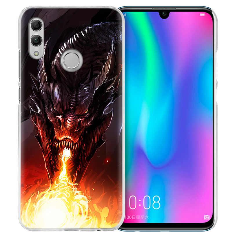 Летающего дракона супер Чехол для huawei Honor 8X Y9 9 10 Lite Play 7C 8C 8 S 8A фотоаппаратов моментальной печати 7 S 7A Pro V20 20i Y6 Y7 Y5 2019 жесткий чехол для телефона pc