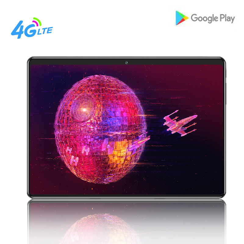 10.1 Inch Tablet PC Android 8.0 Octa Core 8MP Camera Dual SIM Card  1280*800 IPS 2.5D Tempered Screen 4G LTE Smart Tablets+Gift