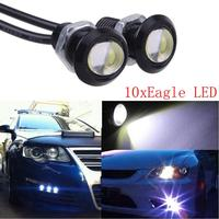 2016 Hot Sale New 10x White DC12V 9W Eagle Eye LED Daytime Running DRL Backup Light