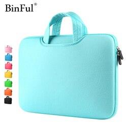 BinFul многоцветный мягкий рукав для ноутбука 11 13 15 15,6 дюймов Сумка для ноутбука чехол для Macbook Air 13 Pro Retina 15 сумки для ноутбука 12 ''14''