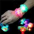 New Hot Sale Adjustable Supplies Flash Light Led Wrist Watch Bracelet Kids Toy Gift HOT Christmas Lumious Toys