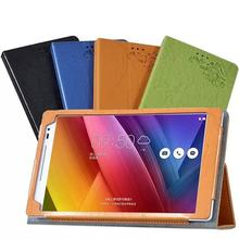 Print Flower PU Leather Cover Case with Stand for Asus Zenpad 8.0 Z380 Z380KL Z3