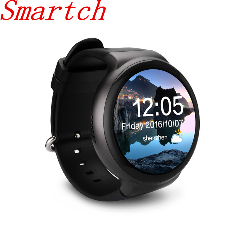 Smartch Bluetooth 4.0 Sport I4 Smart Watch Android 5.1 OS 1GB RAM 16GB ROM WIFI 3G GPS Heart Rate Monitor MTK6580 Quad Core Smar цена