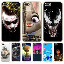 Coringa Para Huawei Y6 Prime 2018 10 9 Lite Honra 7A 7C Pro 8C 8X Y3 2017 Y6 II Caso tampa do Veneno BB-8 Grout Mickey Mouse Do Ponto(China)